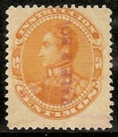 VENEZUELA 1900 - Yvert #91 (Fiscal) - VFU - Venezuela