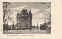 Souvenir De BRUXELLES - La Porte De HAL - Vanderauwera & Cie, Bruxelles Série 1 N° 41 - Lanen, Boulevards