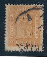 NORUEGA 1863 - Yvert #6 - VFU - Noruega