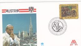Pope John Paul II - Visit: 1988 Austria(B445) - Popes