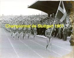 Championnats à Stuttgard 1961 équipe De Suéde - Athlétisme