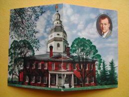 Le Siège Du Gouvernement De L´Etat Du Maryland. - Annapolis