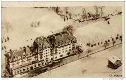 74-COMBLOUX-Le Grand-Hôtel P.L.M.. Vue Prise En Avion - Combloux