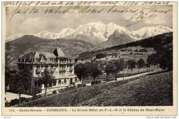 74-COMBLOUX-Le Grand-Hôtel P.L.M..et La Chaine Du Mont-Blanc - Combloux