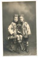 Folklore Roumanian Peasants PLOESTI 1924 Real Photo L.A.Hirsch - Romania
