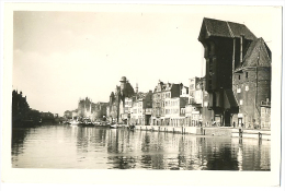 DANZIG GDANSK Langebrucke Echt Foto Luftaufnahmen C. 1930 - Polen