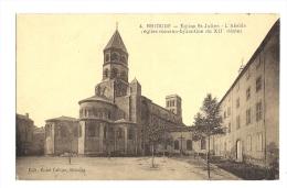 Cp, 43, Brioude, Eglise St-Julien,L'Abside - Brioude