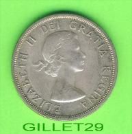 COINS, MONNAIES, CANADA - ONE DOLLAR 1963,F-12 -ELIZABETH II DEI GRATIA REGINA - - Canada
