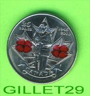 COINS, CANADA - 25 CENTS 1945-2010 - ELIZABETH II DEI GRATIA REGINA - - Canada