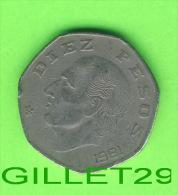 COINS, MEXICO -  10, DIEZ  PESOS, 1981  - ESTADOS UNIDOS MEXICANOS - - Mexico