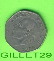 COINS, MEXICO -  10, DIEZ  PESOS, 1978  - ESTADOS UNIDOS MEXICANOS - - Mexico