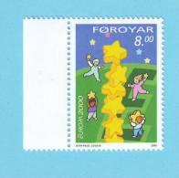 FOROYAR FEROE ENFANCE EUROPA EMISSION JUMELLE 2000  / MNH** / BJ 408 - Sonstige