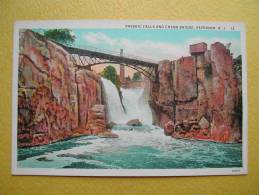 PATERSON. New Jersey. The Passaic Falls. - Paterson