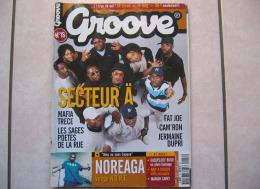 Groove N° 18 : Secteur A, Fat Joe, Cam´ron, Jermaine, Dupri, Noreaga Plus CD 12 Titres - Rap & Hip Hop