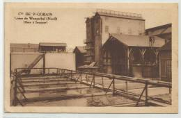 WASQUEHAL (NORD - 59) - CPA - USINE - Cie DE SAINT GOBAIN - BACS A SAUMURE - France