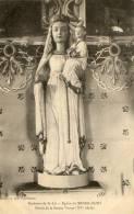 MESNIL EURY (50) église Statue De La Sainte Vierge - France
