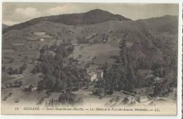 88 - Bussang - Saint Maurice Sur Moselle -bles Hôtels Et Le Parrc Des Sources Minérales - Col De Bussang