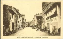CPA  PONT D'HERAULT, Route De Vallerogue  7834 - Altri Comuni