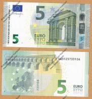 Italia 2013 Nuova Banconota 5 EURO -S002C5- Emessa 2 Maggio 2013 FDC  Nuova** Integra Mai Circolata - EURO