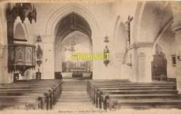 Cpa 02 Beaurieux, Intérieur De L'Eglise - France