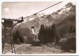 Haute Savoie - 74 - Les Contamines - Les Aiguilles De Bionnassay Vues Du Télésiège De Montjoie - Les Contamines-Montjoie