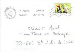 T-p Expression,  Sur Lettre Adressée En Andorre - France