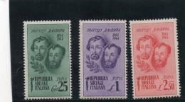 REPUBLIQUE SOCIALE 1944 ** - Mint/hinged