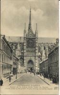CATHEDRALE D´AMIENS, PORTAIL DE LA VIERGE DOREE, SORTIE DE L´EGLISE. ANCIENS ETAB. NEURDEIN ET CIE - Amiens
