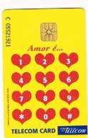 PORTOGALLO (PORTUGAL) -  PORTUGAL TELECOM  (CHIP) -  1997  ST. VALENTINE DAY       - USED ° -  RIF. 4174 - Portogallo