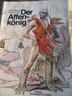 DER AFFEN-KÖNIG. MILO MANARA, SILVERIO PISU. BD EROTIC - Libros, Revistas, Cómics