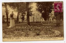 K24 - ARRAS - Le Jardin Saint-Vaast - Le Monument LENGLETO (1932) - Arras