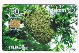 SLOVENIA (SLOVENIJA)  - TELEKOM SLOVENIJE  -  2001 BEES / OSAMLJENI  - USED  -  RIF. 3109 - Slovenia