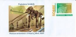 SPAIN, 2012  Prehistoric Wildlife - Anancus Arvernensis - Croizet & Jobert, 1828 -  Elephantiformes - Elephant - Mammoth - Timbres