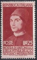 1953 ITALIA ANTONELLO DA MESSINA MNH ** - RR11581-4 - 1946-60: Mint/hinged