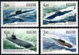 Russia 2006 Mi.#1311-1314 Centenary Of Navy Submarine Forces / 4v, MNH (**) - Nuovi
