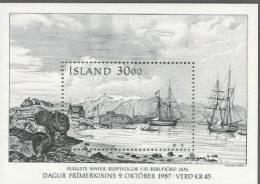 Iceland MNH SS - Tag Der Briefmarke