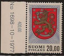 FINLAND 1974 20m Arms SG 852a UNHM JJ13 - Finland