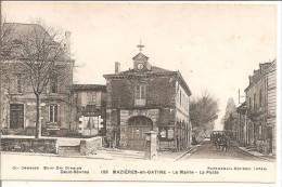 MAZIERES EN GATINE - La Mairie - La Poste - N°169 - Mazieres En Gatine