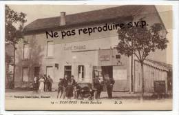 - 14 - ECROUVES - Recette Buraliste, CAFÉ, TABAC, Non écrite, Automobile, Belle Animation, Splendide, Scans. - France
