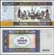 Azerbaijan P 23 1000 Manat 2001 UNC - Azerbaïdjan
