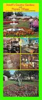 CHARLOTTETONW, PEI - JEWELL'S COUNTRY GARDENS & PIONEER VILLAGE - DIMENSION 10X23 Cm - 6 MULTIVIEWS - - Charlottetown