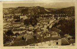 55 -  BAR-le-DUC- Panorama Sur La Ville Basse - Bar Le Duc