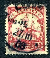 (1079)  Togo 1900  Mi.9  Used   ~ (michel €2,00) - Colony: Togo