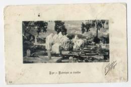 Alg�rie--ALGER--1908--Mauresques au cimeti�re  n� 123  �d Le Panneau Artistique-----------------------------------------