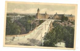 Luxembourg (Luxembourg) : Vue Aérienne Sur L'Avenue Et Le Pont Adolphe   En 1951 (animé). - Luxemburg - Stadt