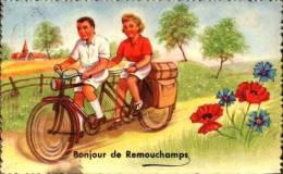 Belgique - Bonjour De Remouchamps, Velo Tamdem - Belgique