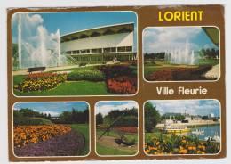 LORIENT - MULTIVUES - LE PALAIS DES CONGRES ET LES JARDINS FLEURIS - Lorient