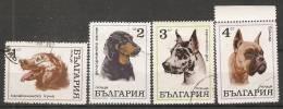 Bulgaria 1970  Dogs  (o) Mi.2021-2024 - Gebraucht
