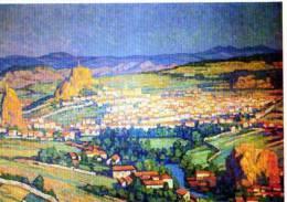 43 LE PUY EN VELAY, Illustrateur, Gabriel Moiselet, Carte Double De La Prefecture De Haute Loire - Le Puy En Velay