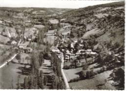 CPSM LA ROUQUETTE (Aveyron) - Vue Panoramique Aérienne - France